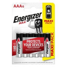 Батарейки Energizer MAX E92/AAA1.5V - 6 шт.