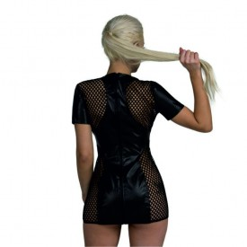 Коротенькое облегающее платье Ника