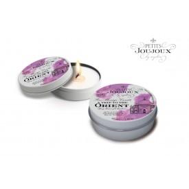 Массажная свеча Petits Joujoux Orient с ароматом граната и белого перца - 33 гр.